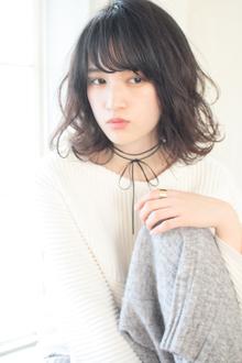 大人かわいいエアリーボブ|MINX 青山店のヘアスタイル