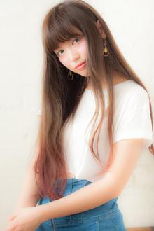 女度UPのうるつやスーパーロング|MINX 青山店のヘアスタイル