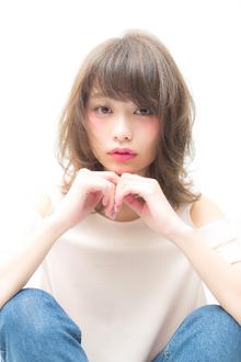 紗栄子風SWEETロブ|MINX 青山店のヘアスタイル