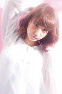 ひし形小顔ミックスカールボブ|MINX 青山店のヘアスタイル