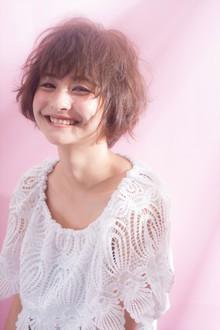 新垣結衣さん風ショートをラフに毛先を動かしてみた|MINX 青山店のヘアスタイル
