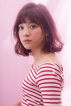 ちょいハネぱっつんボブ|MINX 青山店のヘアスタイル