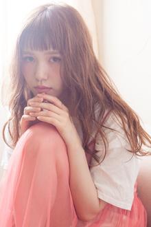 sweet long|MINX 青山店のヘアスタイル