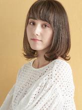 ヘルシー女子の大人こなれミディ|MINX 青山店のヘアスタイル