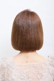 前髪のライン感や毛先の収まりが決め手の愛されワンレンボブ