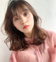 くびれエアリーミディ|MINX 青山店 赤津 美弥のヘアスタイル