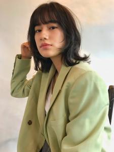 ヘルシーなウルフボブ!|MINX 青山店のヘアスタイル