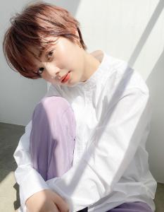 おしゃれマッシュショート|MINX 青山店のヘアスタイル