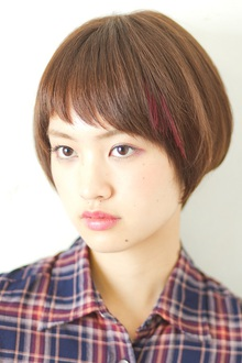 ワンポイントカラーがオシャレ感UP!!|MINX 青山店のヘアスタイル
