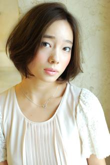 シンプル美人ボブ|MINX 銀座店のヘアスタイル