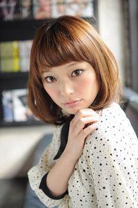 【MINX】2014年 梨花風髪型 大人ボブスタイル