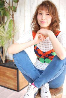 【MINX】2014年 紗栄子風髪型 大人カジュアルスタイル|MINX 銀座店のヘアスタイル