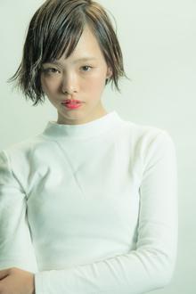 【MINX】ファショニスタ必見のグロッシィストレートボブ MINX 銀座店のヘアスタイル