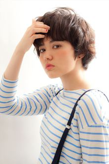 【MINX】おしゃれ系カジュアルショート|MINX 銀座店のヘアスタイル