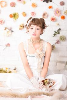 ルーズなほつれ!ゆるふわ花嫁ヘア|MINX 銀座店のヘアスタイル