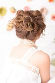 一生に一度のかわいい花嫁ヘア