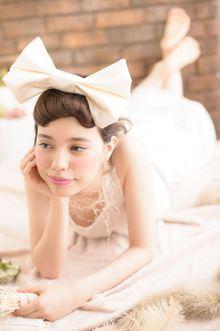 ノーブルでイノセントなマリッジヘア☆|MINX 銀座店のヘアスタイル