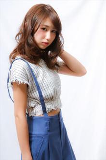 【MINX】今旬スタイル!リラクシーロング|MINX 銀座店のヘアスタイル