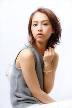 【MINX】30代 夏のクールな大人女性ボブ|MINX 銀座店 飯野 誠のヘアスタイル