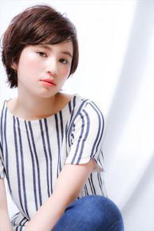 【MINX】アクティブな骨格補正マリンショート|MINX 銀座店のヘアスタイル