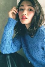 レトロでモードな女っぽルーズウェーブ MINX 銀座店 小池 茜のヘアスタイル