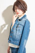 シンプルで色っぽいジェンダーレスショート|MINX 銀座店 田中 亜樹のヘアスタイル