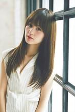 シアーな質感、時短プラチナストレート|MINX 銀座店 菅野 久幸のヘアスタイル