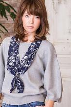 マンネリチェンジで、ヘルシーなオフスタイル|MINX 銀座店 西田 由布子のヘアスタイル