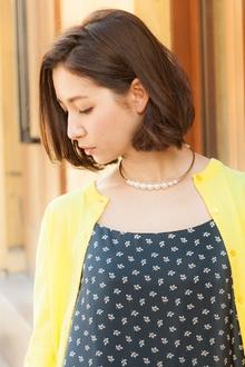 モデルSHIHOさん風 大人ボブ|MINX 銀座店のヘアスタイル