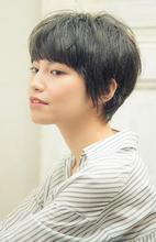 きどらない大人可愛いショートスタイル|MINX 銀座店 西田 由布子のヘアスタイル