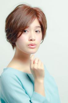 柔らかくてふんわりとしたショートボブ|MINX 銀座店のヘアスタイル