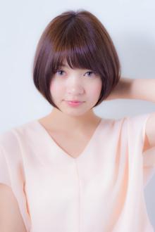 春夏にオススメ!ひし形シルエットのショートボブ|MINX 銀座店のヘアスタイル