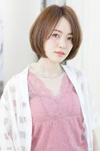 輪郭を美しく魅せる内巻きニュアンスの美人ボブ|MINX 銀座店 蛭田 佑介のヘアスタイル