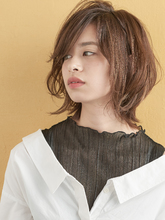 外ハネショート|MINX 銀座店 田中 亜樹のヘアスタイル