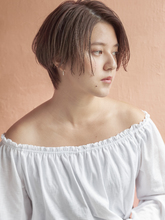 秋冬人気のシアーベージュ|MINX 銀座店のヘアスタイル