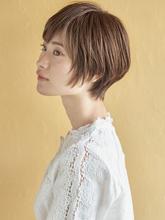 アレンジのしやすいショート|MINX 銀座店のヘアスタイル