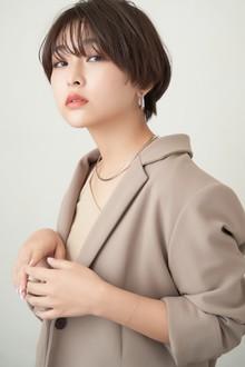 大人マッシュショート|MINX 銀座店のヘアスタイル