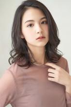 愛されミディアム|MINX 銀座店 田中 柚衣のヘアスタイル