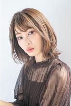 ネオウルフ×くびれキレイめ大人ミディ MINX 銀座店 鈴木 貴徳のヘアスタイル