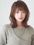くびれ大人ミディアム|MINX 銀座店のヘアスタイル