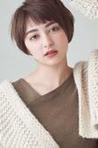 大人可愛い丸みショート|MINX 銀座店のヘアスタイル