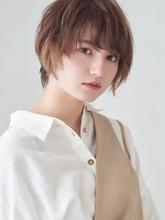 ふわっと大人のナチュラルショートボブ|MINX 銀座店のヘアスタイル