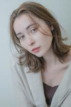 カジュアル大人可愛い外ハネボブ|MINX 銀座店のヘアスタイル