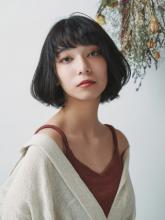 ニュアンスカールボブ|MINX 銀座店 田中 柚衣のヘアスタイル