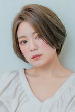 大人可愛い★ひし形ショートボブ|MINX 銀座店のヘアスタイル