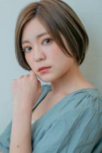 大人可愛い★ひし形シルエットのグラボブ|MINX 銀座店 蛭田 佑介のヘアスタイル