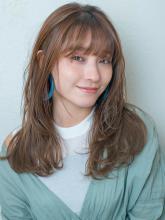 韓国風ロングレイヤー|MINX 銀座店のヘアスタイル