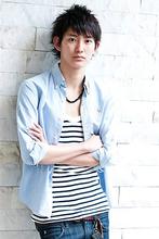 さわやかな印象にしたい方におすすめのヘアスタイルです。|MINX 銀座店 飯野 誠のメンズヘアスタイル