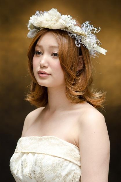 ウェディングでも外ハネでHAPPYに☆ | 銀座の美容室 MINX 銀座店のヘアスタイル | Rasysa(らしさ)