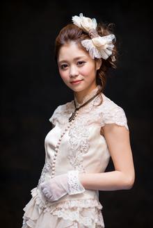 凛とした美しさを秘めた花嫁ヘア|MINX 銀座店のヘアスタイル
